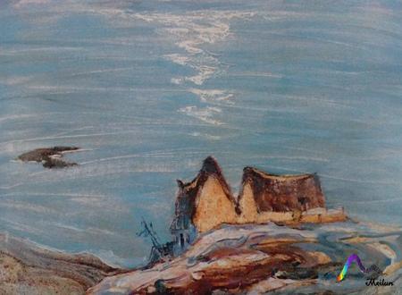 """1998年""""当代中国山水画,油画风景展,八人风景写生联展""""."""